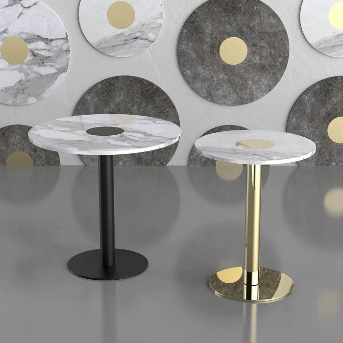 Coccaro - bistrò table - design R_D Monitillo 1980-low res